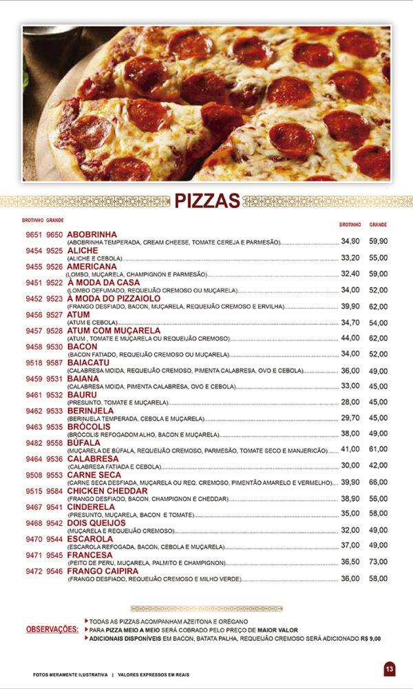 pizzas página 13